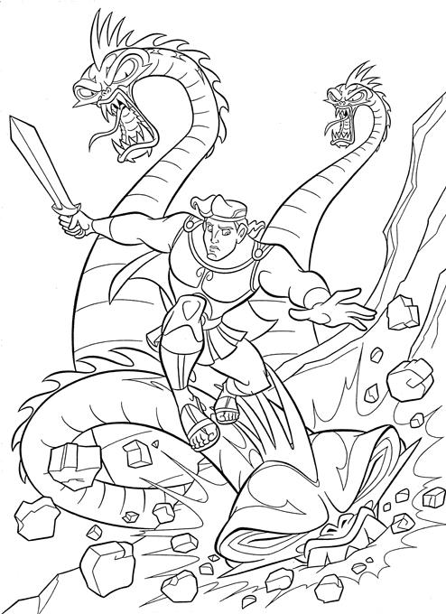 Coloriage Hercule #84200 (Super-héros) - Album de coloriages