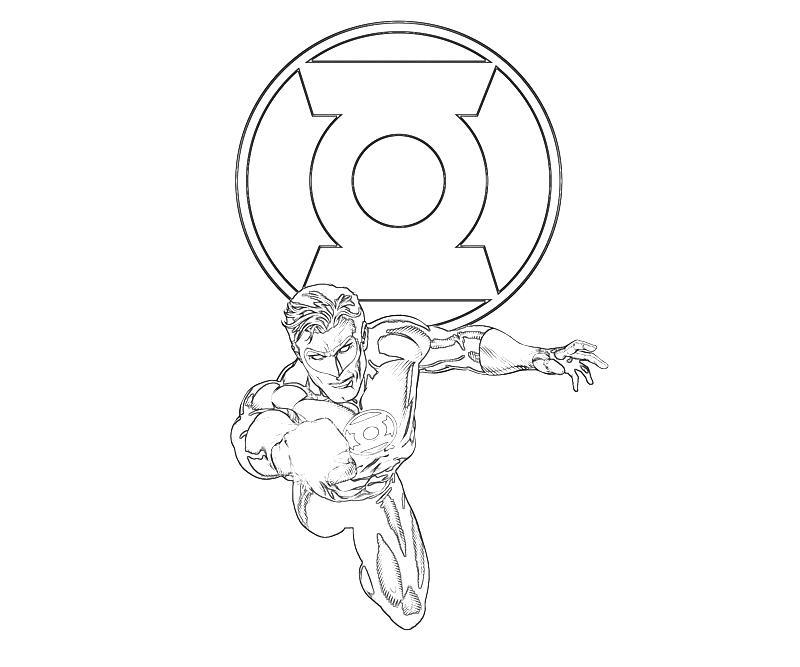 Coloriage Lanterne Verte #19 (Super-héros) - Coloriages à ...