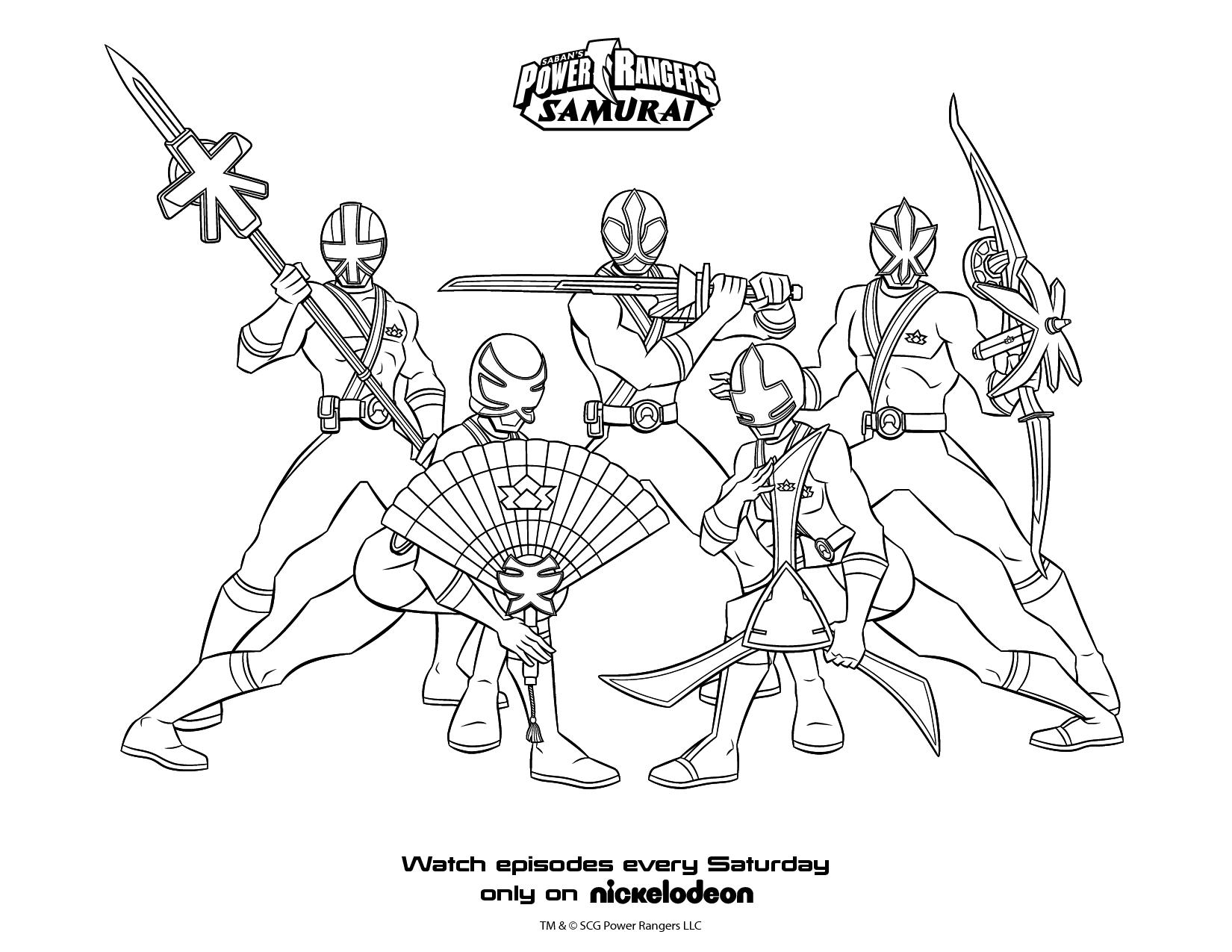 Coloriages Power Rangers (Super-héros) - Page 4 - Album de ...