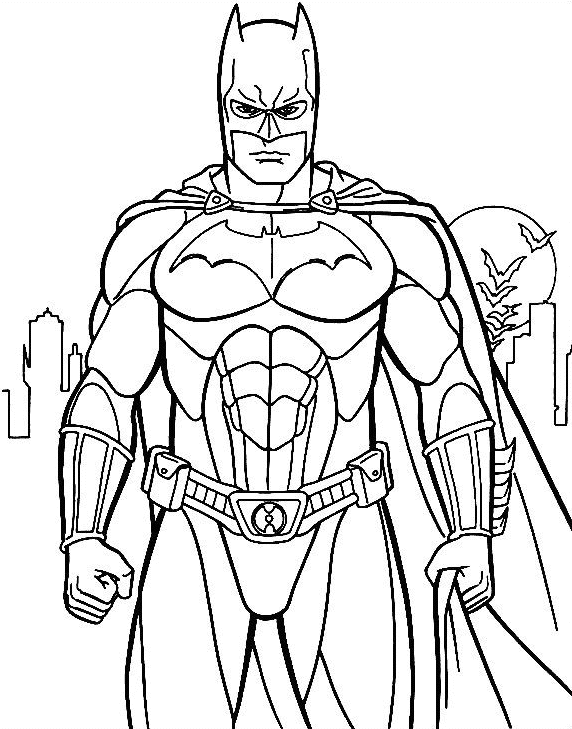 Coloriage Super Heros Dc Comics 29 Super Heros Coloriages A Imprimer
