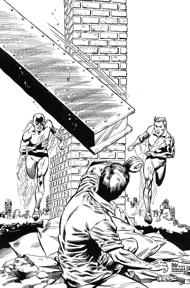 Coloriage Super Héros DC Comics #80282 (Super-héros ...