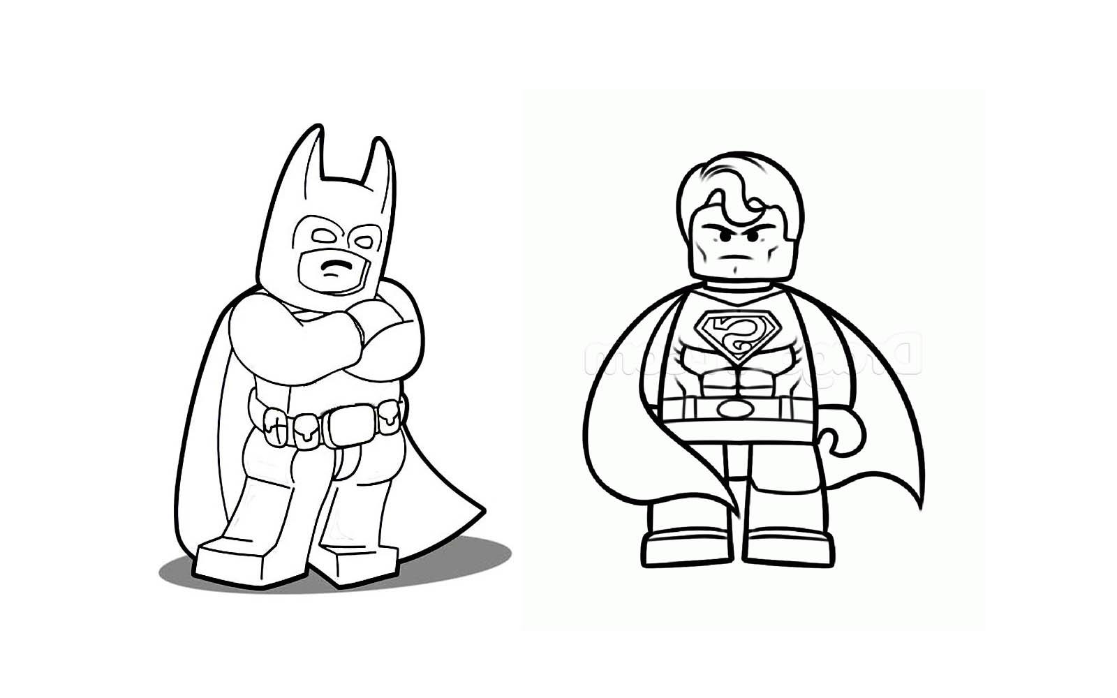 Coloriage Super Héros DC Comics #175 (Super-héros ...