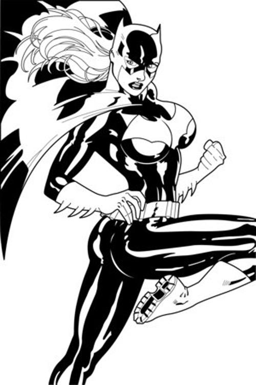 Coloriage Super Héros DC Comics #80379 (Super-héros ...