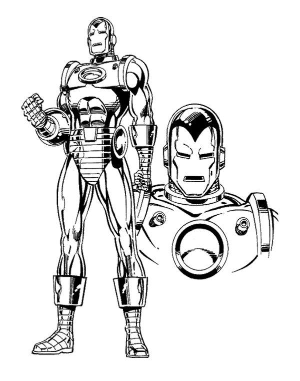 Coloriage Super Héros DC Comics #80507 (Super-héros ...
