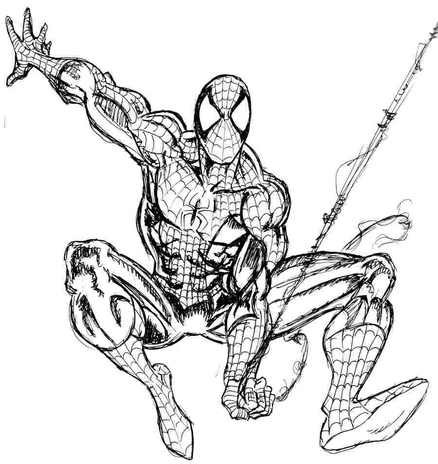 Coloriage Super Héros Marvel #156 (Super-héros ...