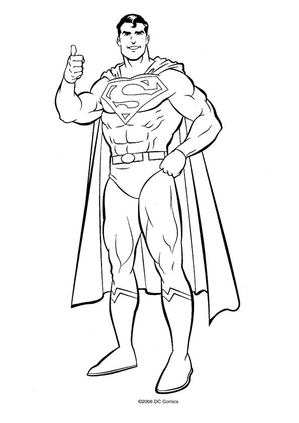 Coloriages Superman (Super-héros) - Album de coloriages