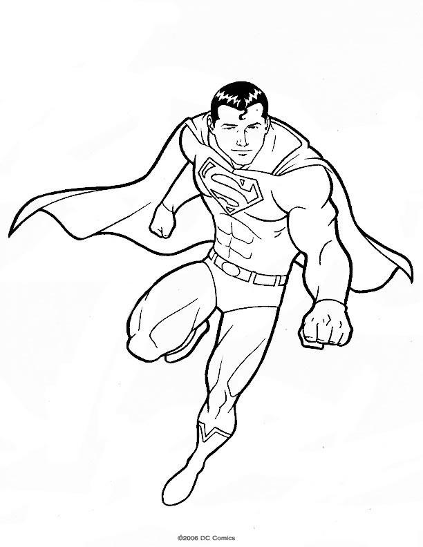 Coloriage Superman #83833 (Super-héros) - Album de coloriages