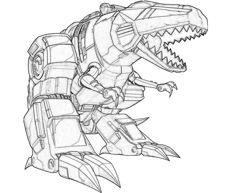 Coloriage Transformers #56 (Super-héros) - Coloriages à ...