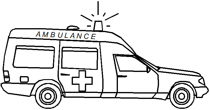 Coloriage Ambulance 136752 Transport Album De Coloriages