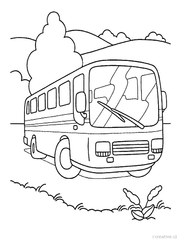 Coloriage Autobus / Autocar #135308 (Transport) - Album de ...