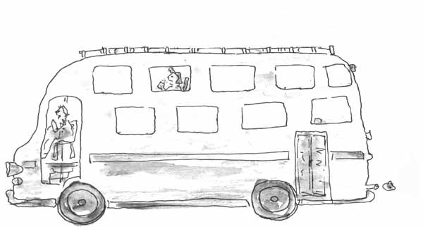 Coloriage Autobus / Autocar #135410 (Transport) - Album de ...