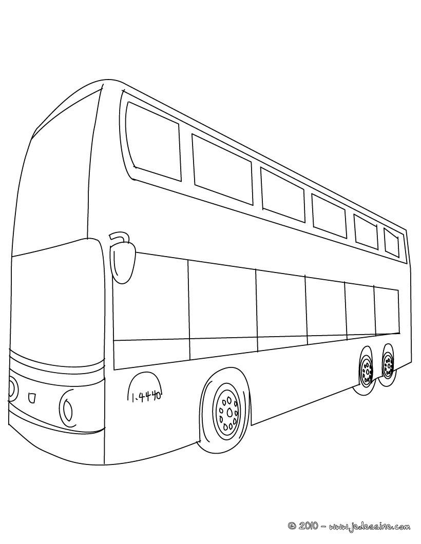 Coloriage Autobus / Autocar #135441 (Transport) - Album de ...
