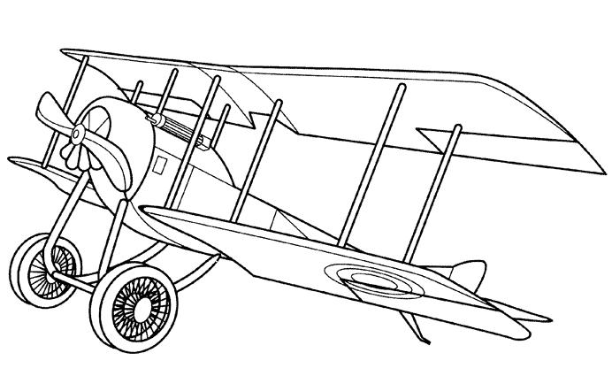 Coloriage Avion #180 (Transport) - Coloriages à imprimer