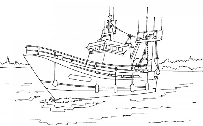 Coloriage Bateau / Navire #137483 (Transport) - Album de ...