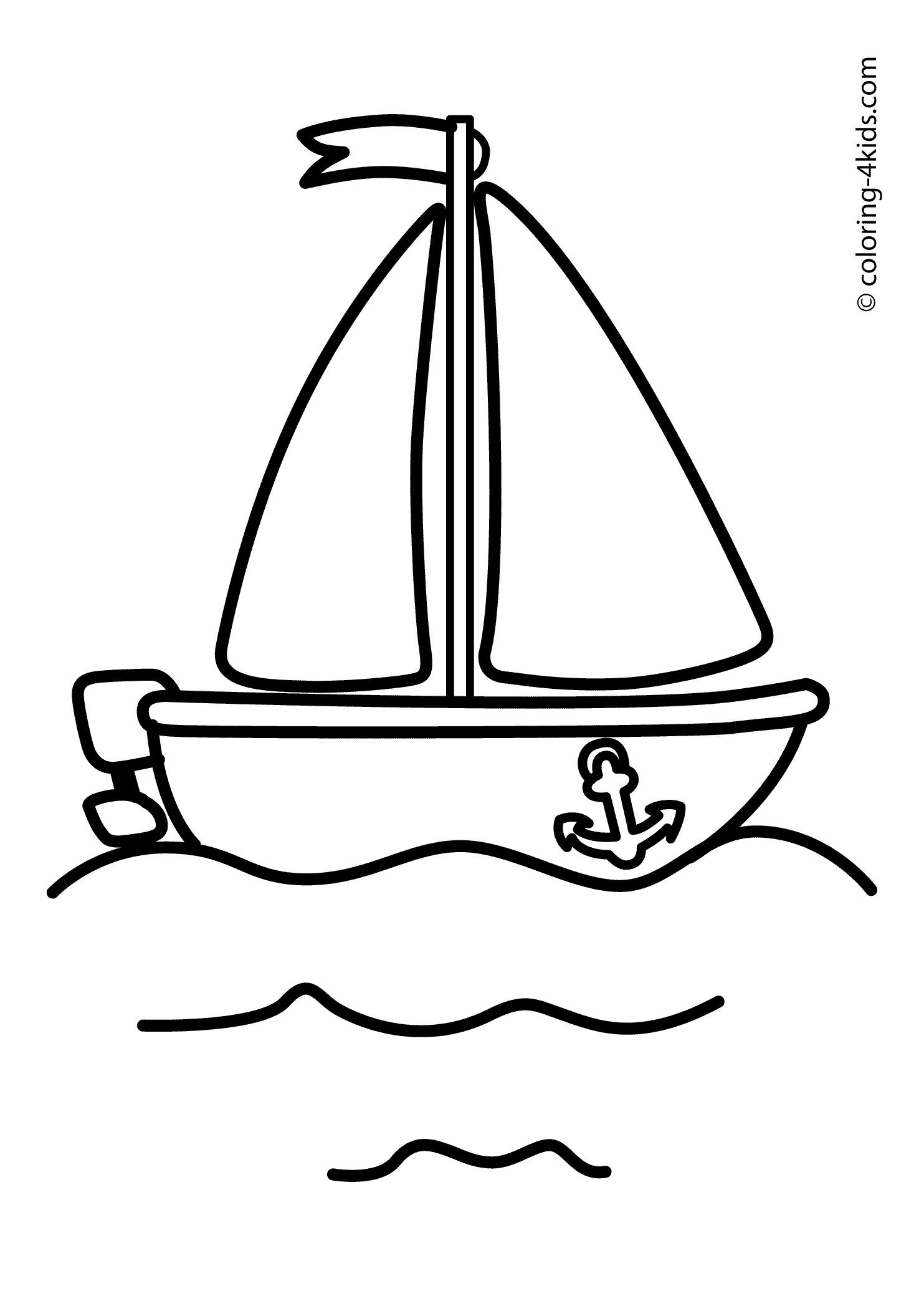 Coloriages Bateau / Navire (Transport) - Page 2 - Album de ...