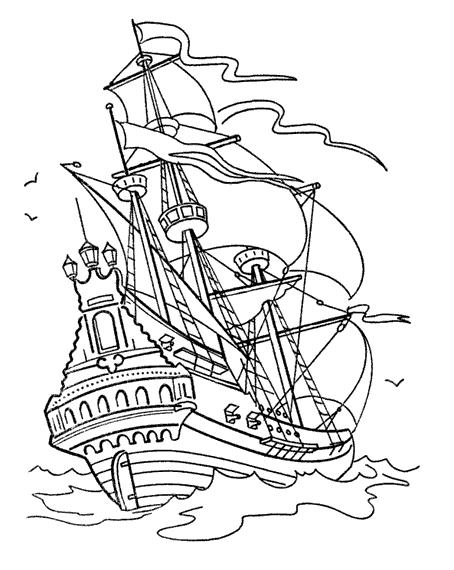 Coloriage Bateau / Navire #137610 (Transport) - Album de ...