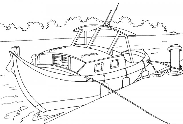 Coloriage Bateau / Navire #137643 (Transport) - Album de ...