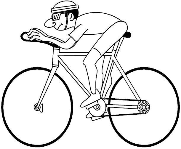 Coloriage Bicyclette / Vélo #136948 (Transport) - Album de ...