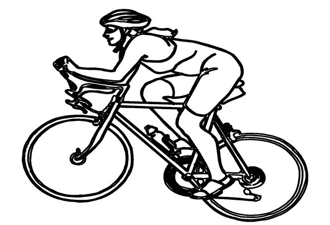 Coloriage Bicyclette / Vélo #136955 (Transport) - Album de ...