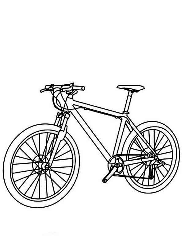 Coloriage Bicyclette / Vélo #137095 (Transport) - Album de ...