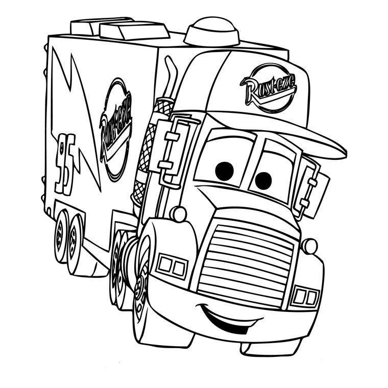 Coloriage Camion #135707 (Transport) - Album de coloriages