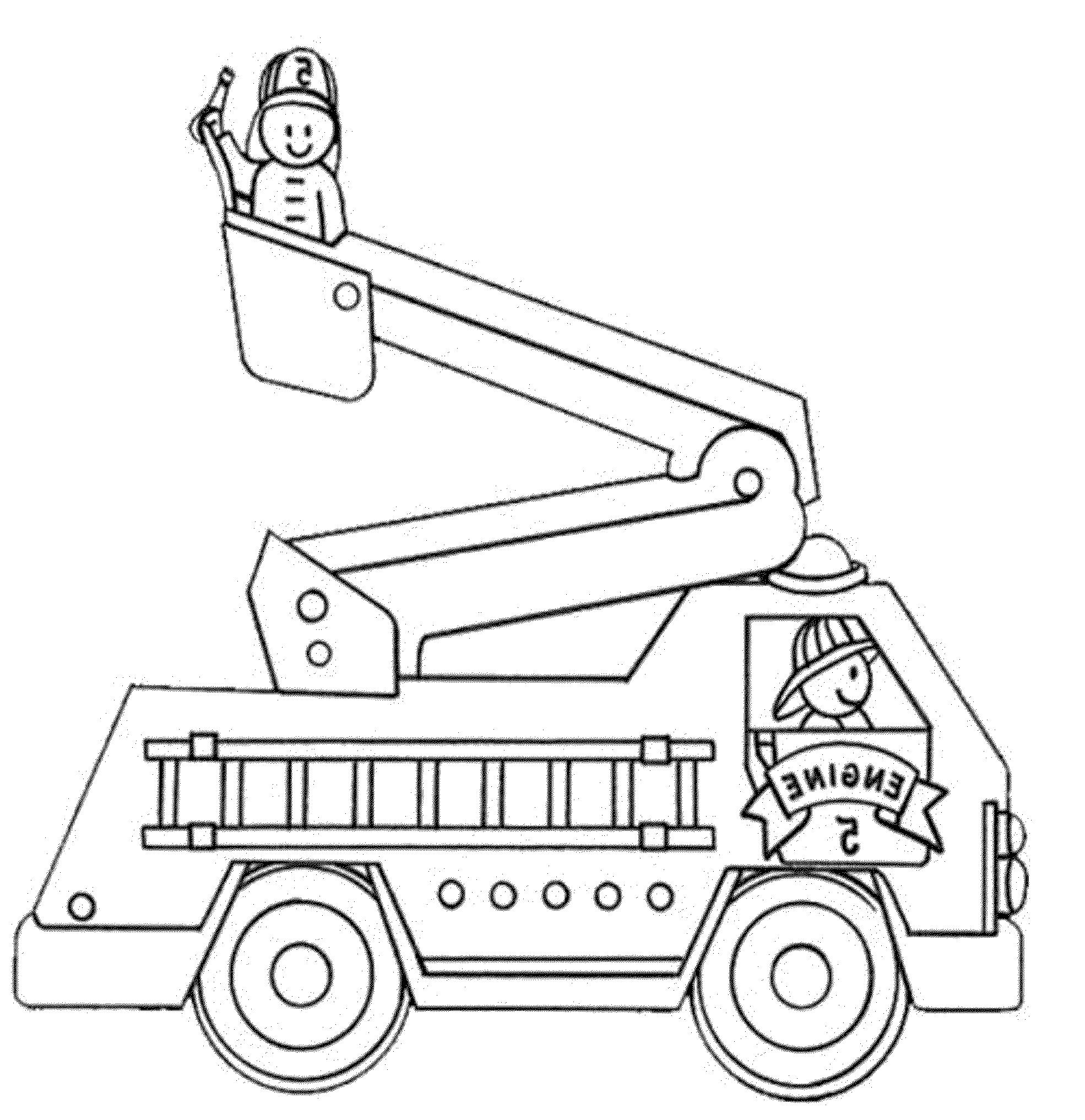 Coloriages Camion de Pompier (Transport) - Page 2 - Album ...