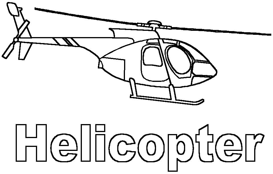 Coloriage Helicoptere 136028 Transport Album De Coloriages