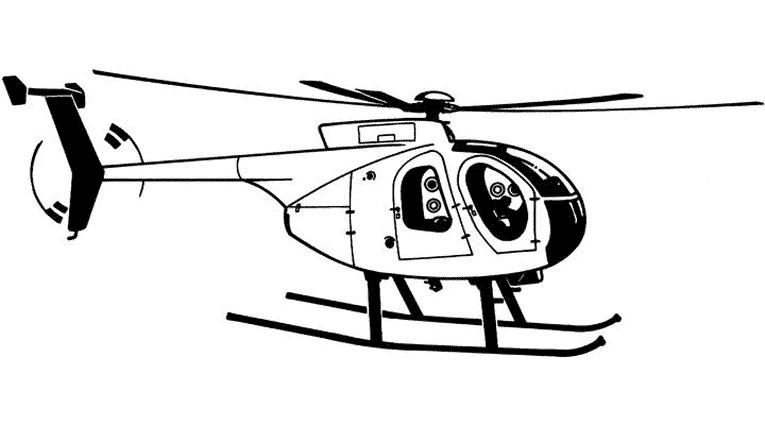 Coloriage Helicoptère #136047 (Transport) - Album de ...