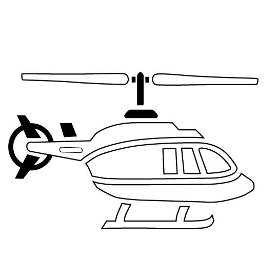 Coloriage Helicoptère #136089 (Transport) - Album de ...