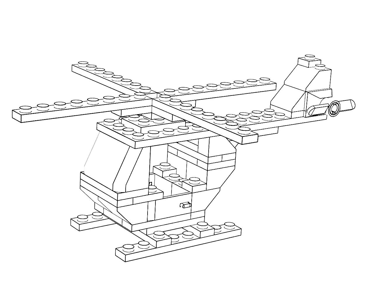 Coloriage Helicoptère #136165 (Transport) - Album de ...