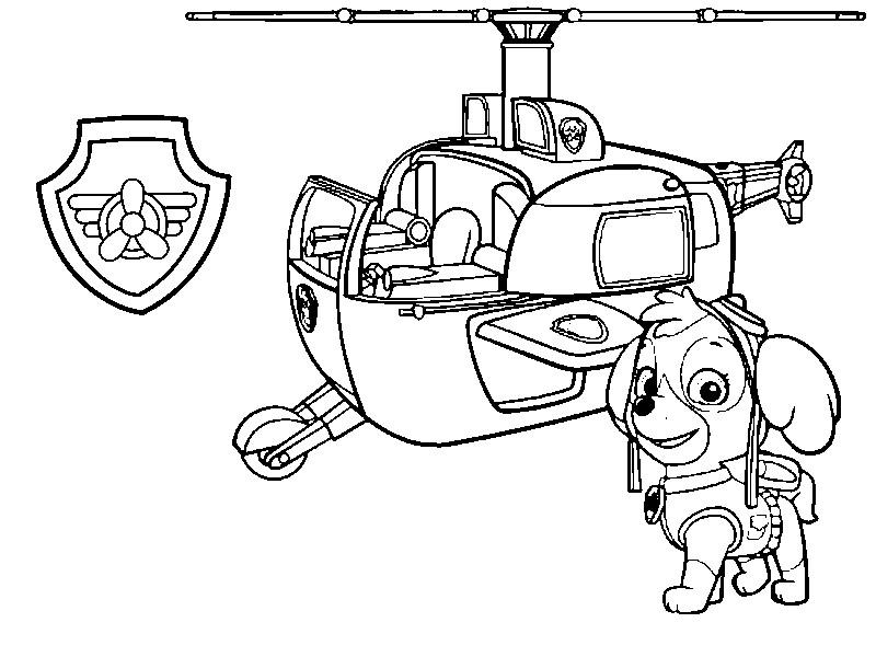 Coloriage Helicoptère #136181 (Transport) - Album de ...