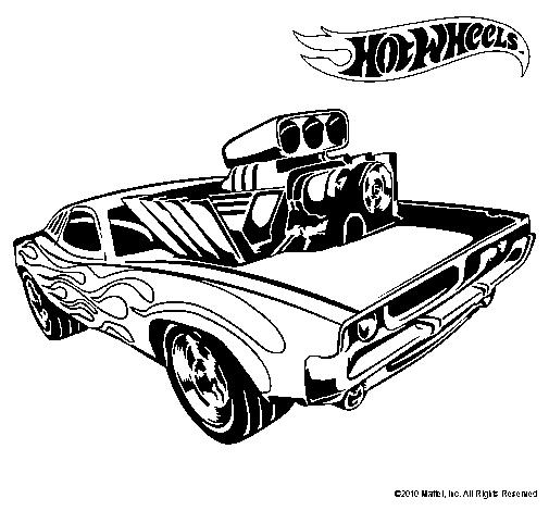 Coloriage Hot wheels #145853 (Transport) - Album de coloriages