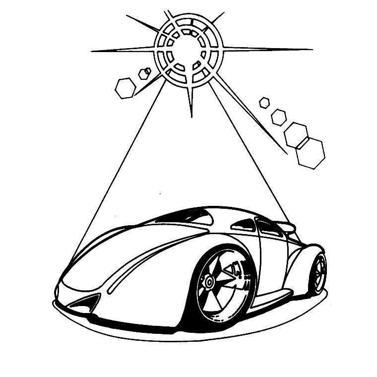 Coloriage Hot wheels #26 (Transport) - Coloriages à imprimer