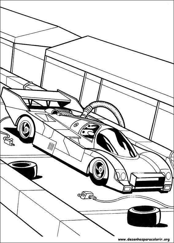 Coloriage Hot wheels #44 (Transport) - Coloriages à imprimer