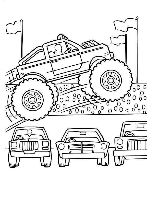 Coloriage Monster Truck #141330 (Transport) - Album de ...