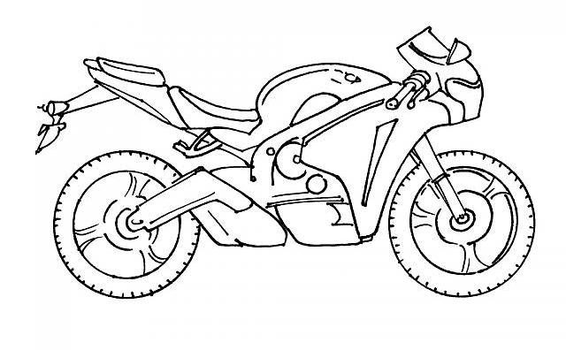 Coloriage Motocross #136514 (Transport) - Album de coloriages