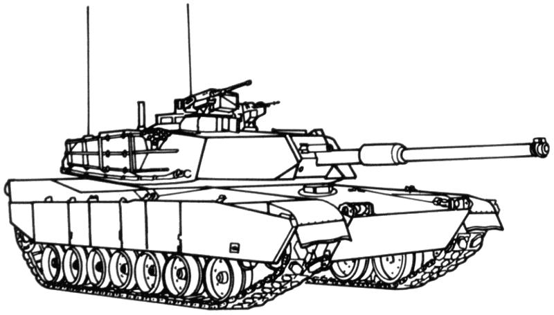 Coloriage Tank #138026 (Transport) - Album de coloriages