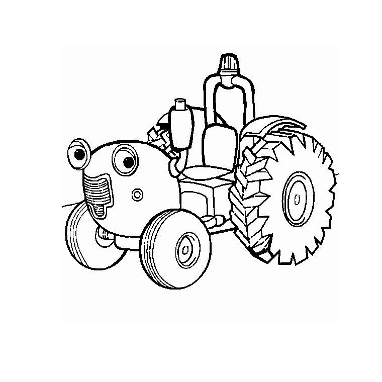 Coloriage Tracteur #141944 (Transport) - Album de coloriages