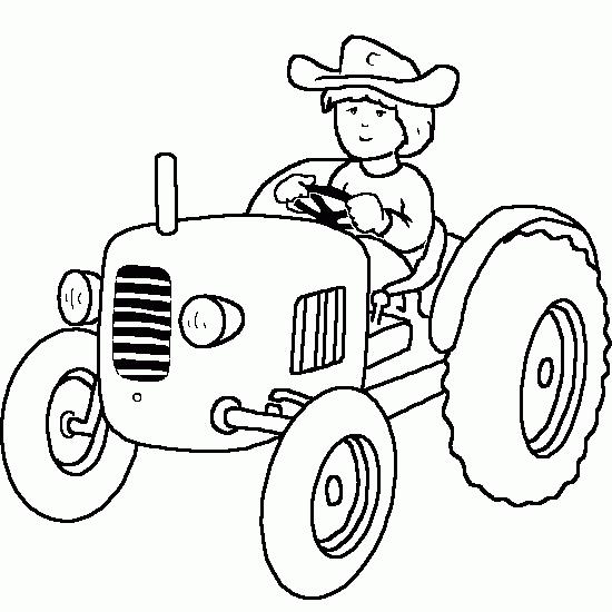 Coloriage Tracteur #141979 (Transport) - Album de coloriages