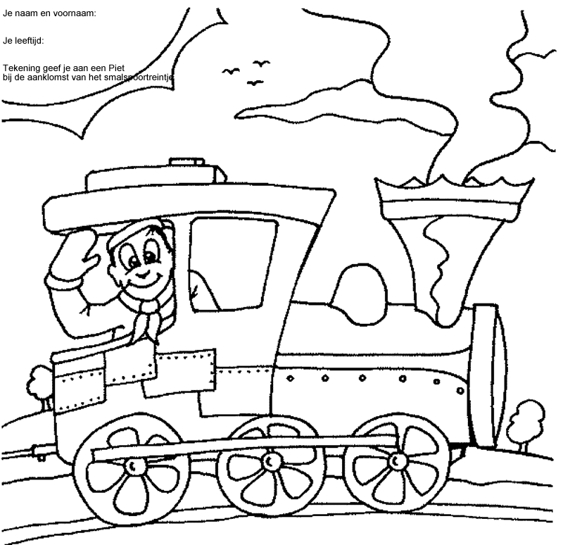 Coloriage Train / Locomotive #52 (Transport) - Coloriages ...