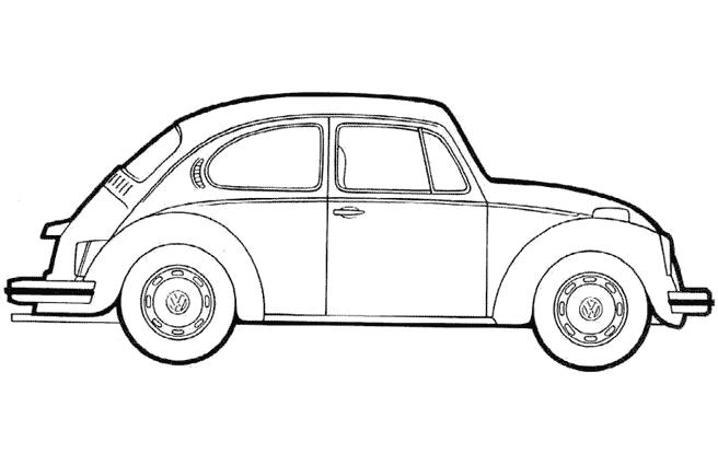 Coloriage Voiture / Automobile #192 (Transport ...
