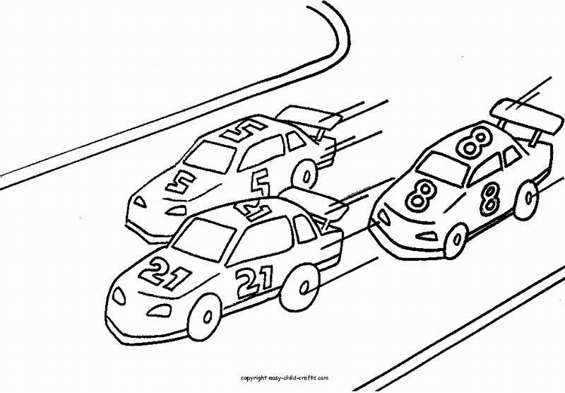 Coloriage Voiture de course #138840 (Transport) - Album de ...