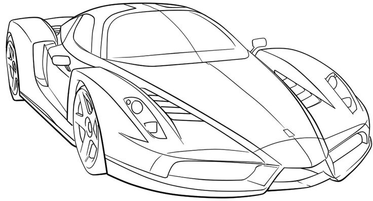 Coloriage Voiture sport / tuning #146910 (Transport ...