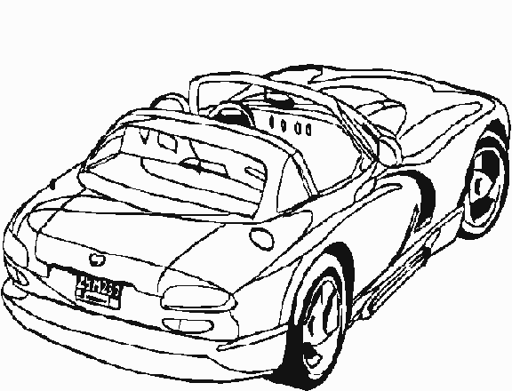 Coloriage Voiture sport / tuning #36 (Transport ...