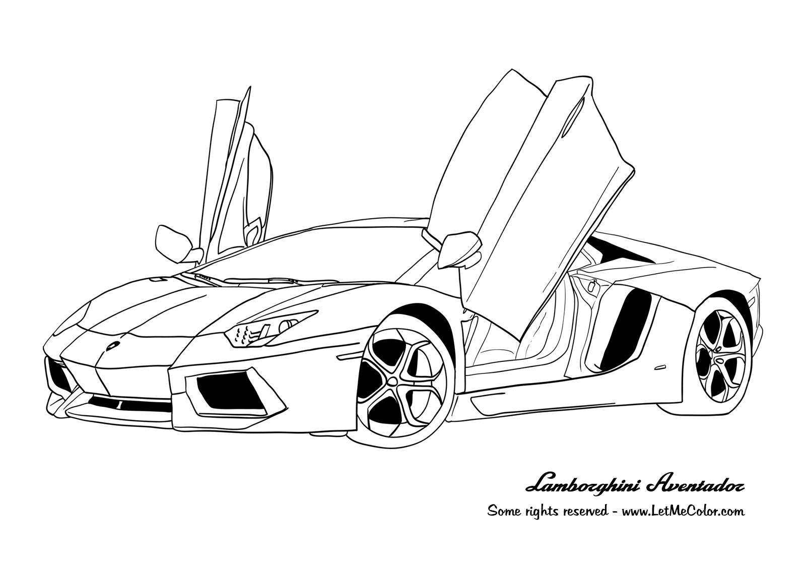 Coloriage Voiture sport / tuning #79 (Transport ...