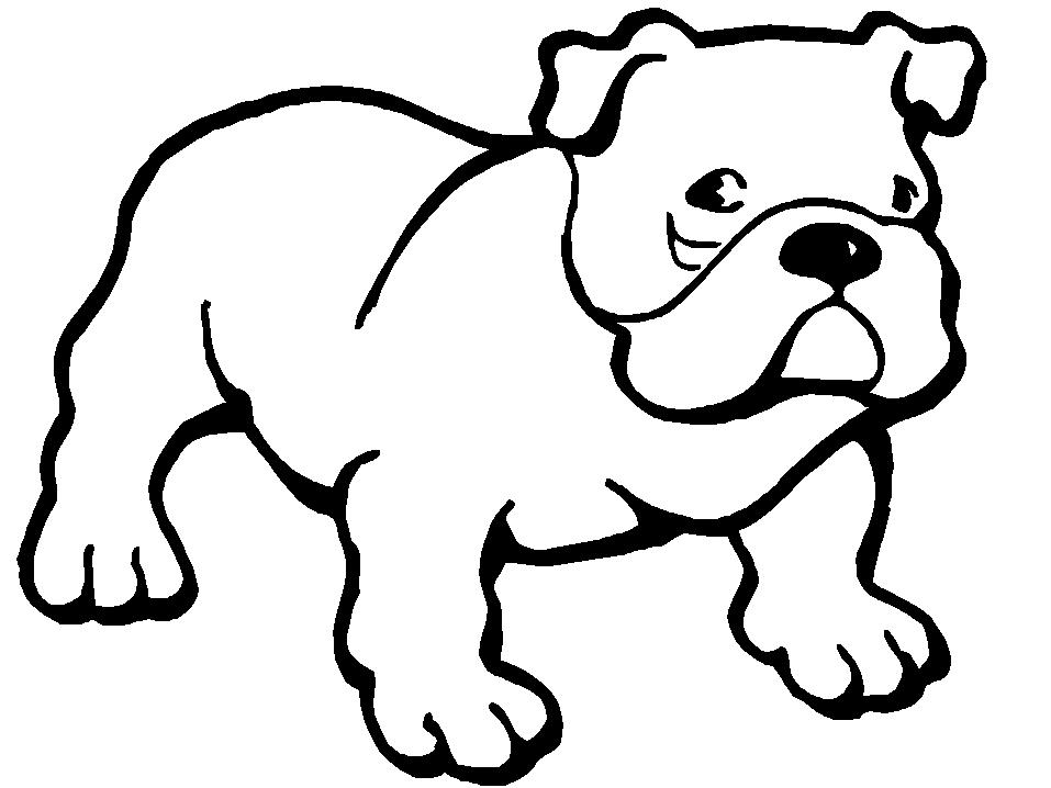 Chien 55 animaux coloriages imprimer - Coloriage de chien boxer ...