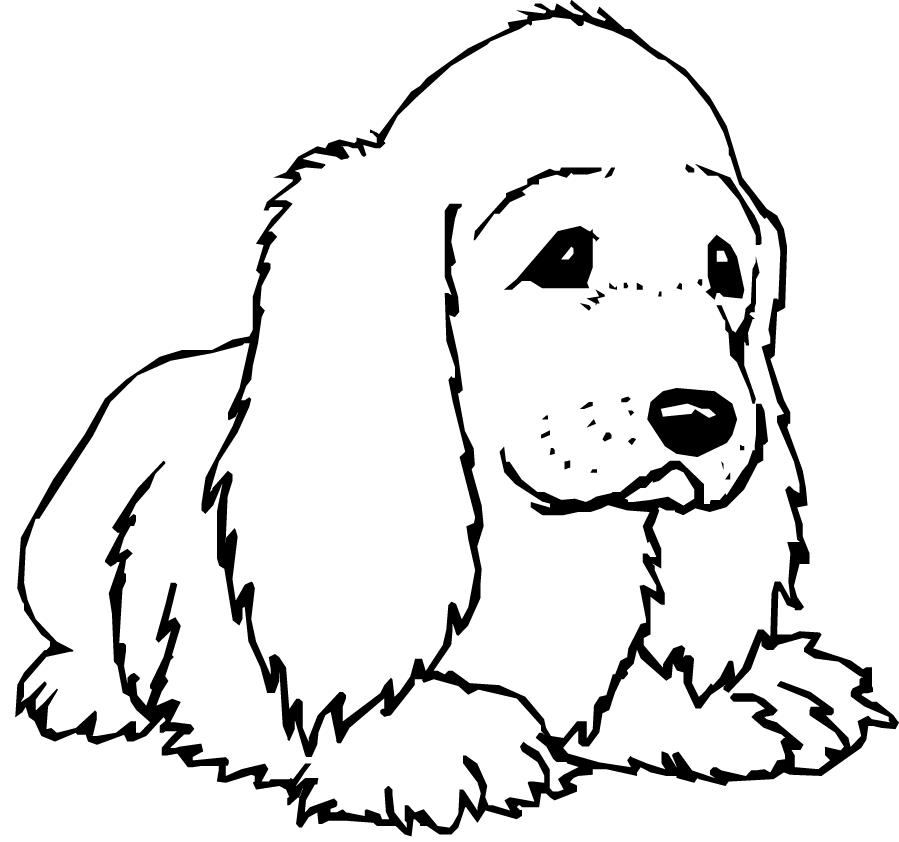 Chien 6 animaux coloriages imprimer - Chien coloriage ...